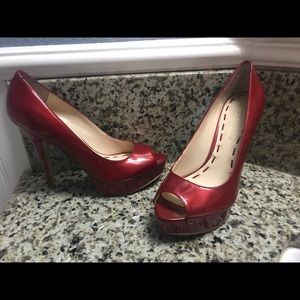 Shoes - Enzo Angiolini peep toe pumps